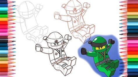 draw lloyd  lego ninjago sons  garmadon youtube
