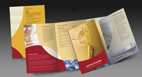 Two Fold Brochure Design by Two Fold Brochure Design And Printing For Bulk