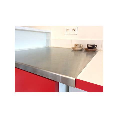 plaque en inox pour cuisine plaque inox brosse pour cuisine maison design bahbe com