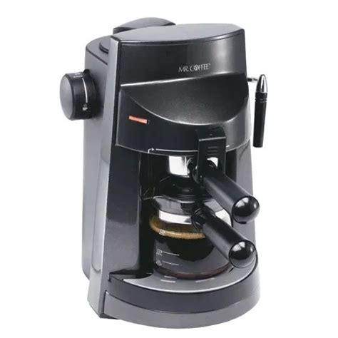 Cons of mr coffee dual shot espresso / cappuccino maker. Mr. Coffee 4-Cup Espresso/Cappuccino Maker   Cappuccino maker, Coffee making machine, Mr coffee