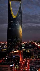 Saudi Arabia Riyadh City Night iPhone 6 Wallpaper HD