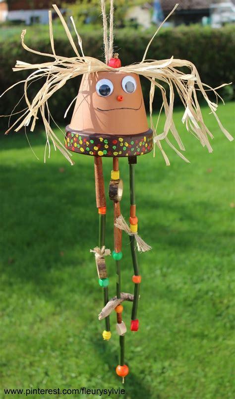 cuisiner pour les enfants bricolage d 39 automne avec les enfants un pot en terre