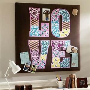 Lampe Mit Buchstaben : einfache tolle wand dekoration ideen f r das jugendzimmer ~ Watch28wear.com Haus und Dekorationen
