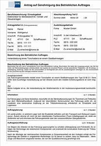 Einverständniserklärung Vorlage Arbeit : beispiel f r einen betrieblichen auftrag pdf ~ Themetempest.com Abrechnung