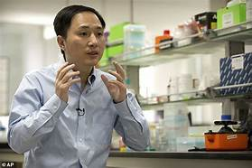 Chinese scientist who allegedly created the first genetically engineered babies is being detained…