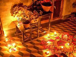 How to decorate your house on diwali indian festival for Interior decoration ideas for diwali