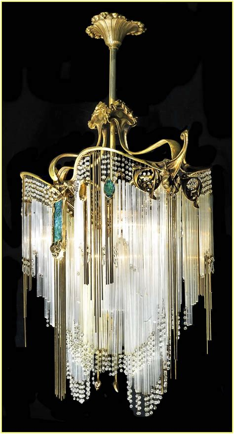 Closed Curtain by Art Deco Chandelier Lighting Home Design Ideas