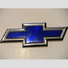 Chevy Blue Bowtie Emblem  Ebay