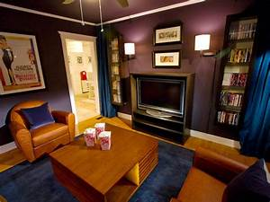 Small Media Room Ideas: Pictures, Options, Tips & Advice