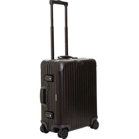 rimowa cabin luggage rimowa topas stealth cabin multiwheel iata
