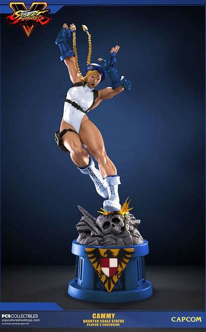 Pcs Fighter Street Cammy Statue P2 Toyark