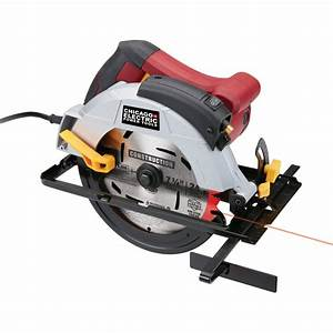 7 4 In  12 Amp Heavy Duty Circular Saw With Laser Guide