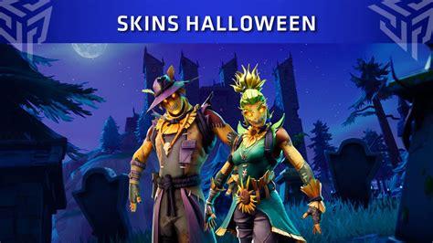 las nuevas skins de halloween  llegaran  fortnite