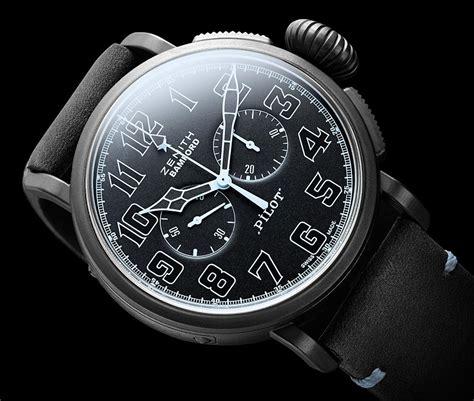 ton bureau zenith watches officially customized by bamford