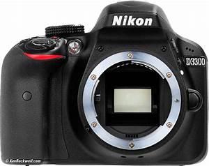 Nikon D3300 DSLR Camera with 18 55mm VR Lens Black