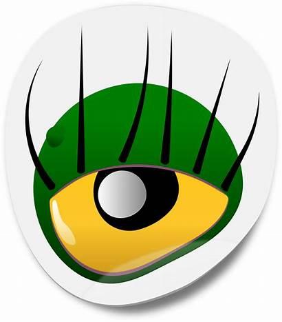 Monster Eyes Eye Clipart Clip Cartoon Eyeball
