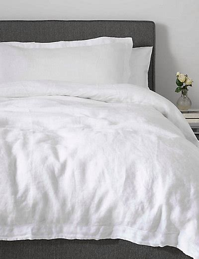 Pure Linen Bedding M&s