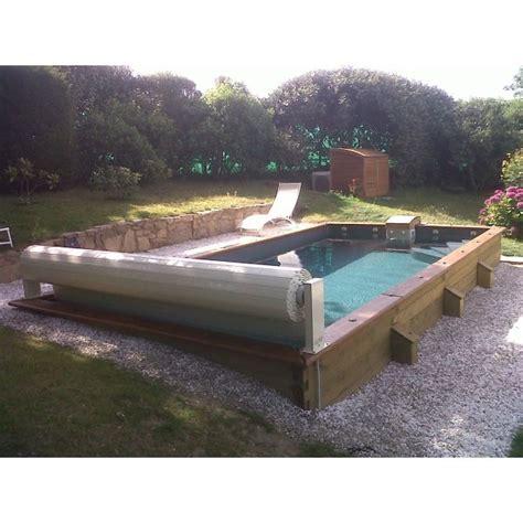 une piscine semi enterr 233 e pas cher faites des 233 conomies en installant votre piscine chez vous