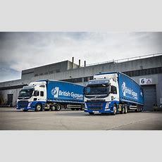 Ceva Logistics, British Gypsum Introduce New Volvo Fleet  Construction Business News Middle East