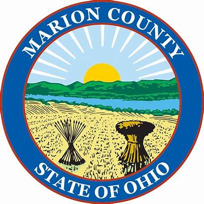 Svg Marion County Ohio Seal Pixels Wikimedia
