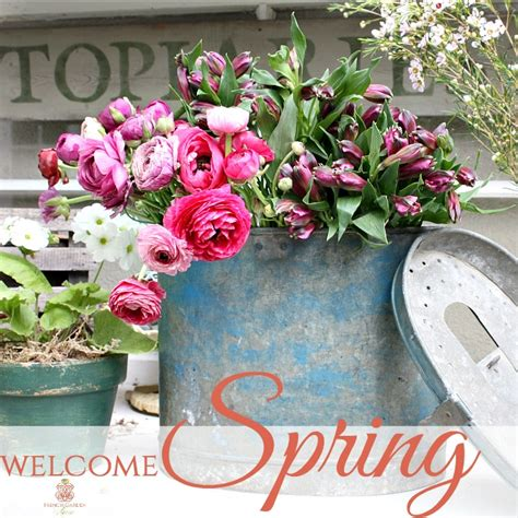 WELCOME SPRING - French Garden House