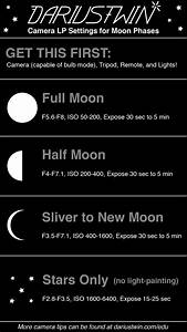 Images of Moon Photography Settings Cheat Sheet - #SpaceMood