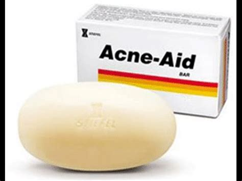 Acne Aid Soap - YouTube