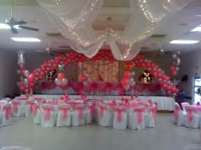 quinceanera hall decorations gala rental quinceanera