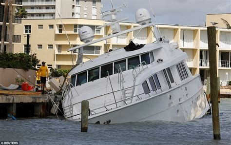 Damaged Boats For Sale In Miami by Florida Dealing With Hurricane Irma Aftermath Daily Mail