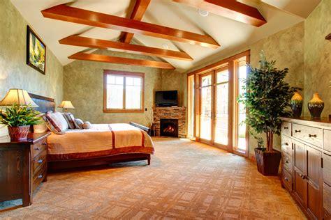 dormitorio rustico  vigas vistas de madera fotos