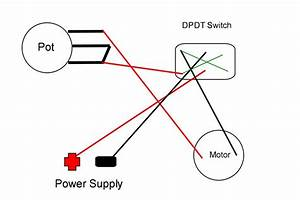 How To Wire A Dpdt Rocker Switch For Reversing Polarity Wiring Diagram
