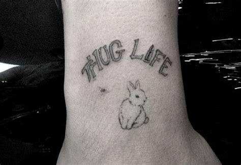 thug life tattoo