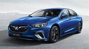 2018 Buick Regal Gs Leaked For Chinese Market