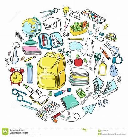 Symbols Education Icons Clipart Objects Cartoon Doodle