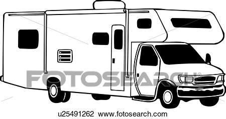 motorhome clipart black and white clipart ceur mini motorhome r 233 cr 233 ation r 233 cr 233 atif