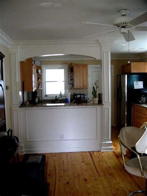 Photo 4  Eliptical Arch Kitchen Passthrough Wall  Click