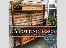 Potting Bench Free Plans