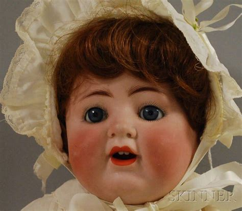german bisque head baby dolls sale number  lot