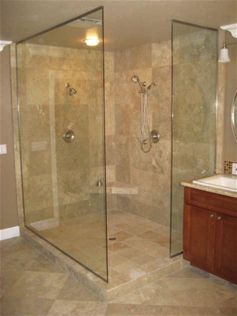 frameless shower designs