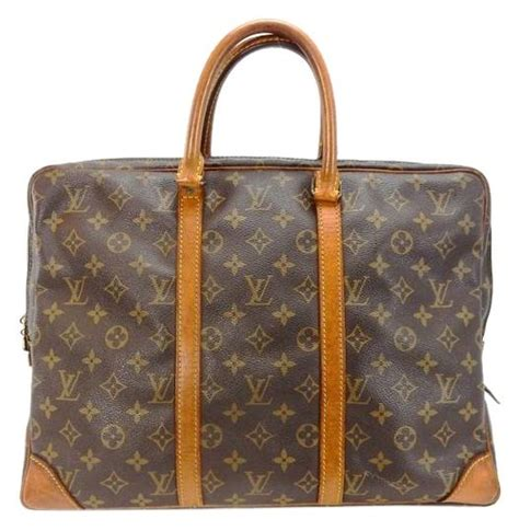 louis vuitton vintage porte documents voyage monogram