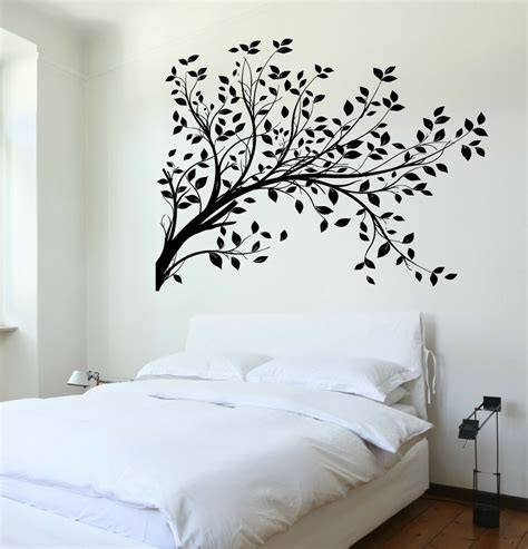 wall decal tree branch cool art  bedroom vinyl sticker