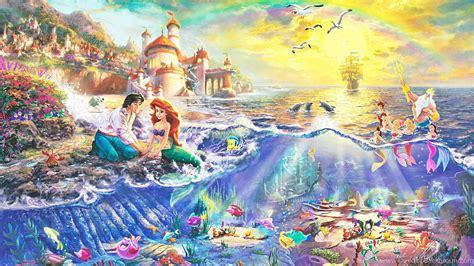 Disney Animation Wallpaper - mermaid disney animation adventure