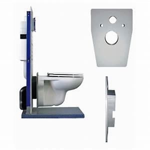 Wand Wc Montage : fliz wand wc adapter montageadapter toilette klo ~ Watch28wear.com Haus und Dekorationen