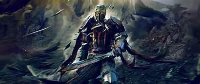 Crusader Dark 4k Knight Fantasy Wallpapers