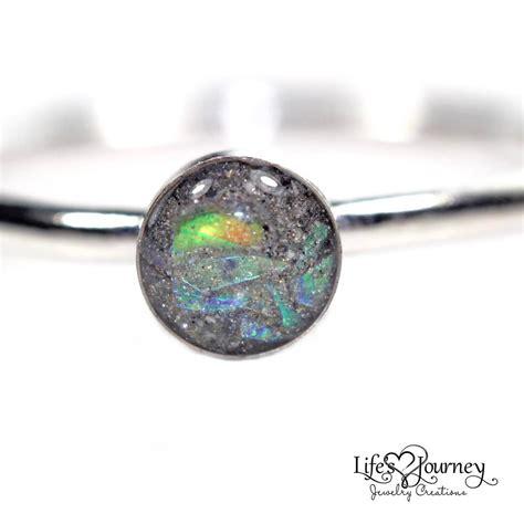 ashes stacking ring  sparkles keepsake ring