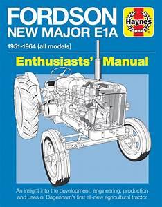 Fordson Major E1a Manual  Paperback