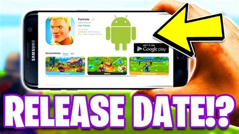 fortnite mobile android  release date info