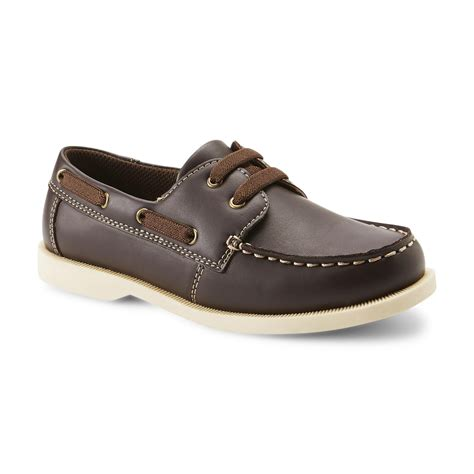 Boys Brown Boat Shoes by Route 66 Boy S Fredric Brown Boat Shoe Shoes Baby