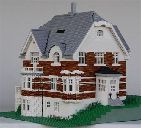 spectacular home models plans real house in lego lego