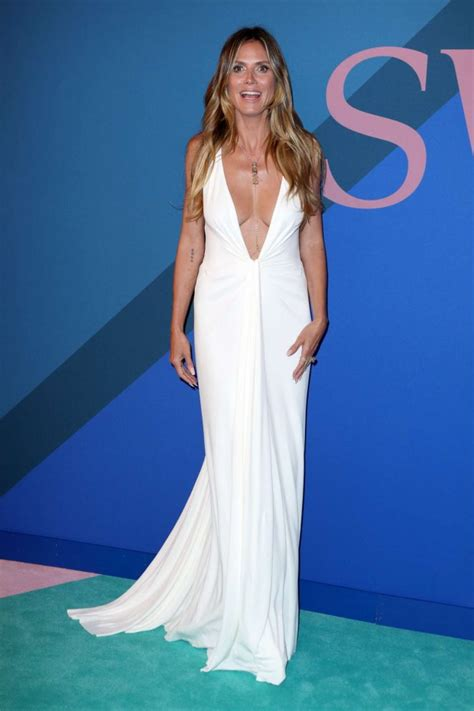 Heidi Klum Cfda Fashion Awards Gotceleb